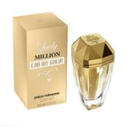 paco rabanne - lady million eau - my gold  -  (80ml)